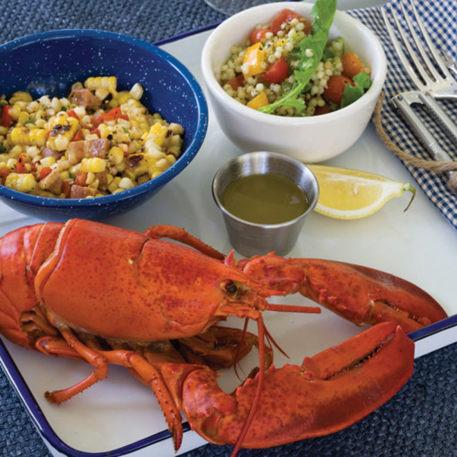 Food & Wine: Steamed Lobster with Lemon Thyme Butter