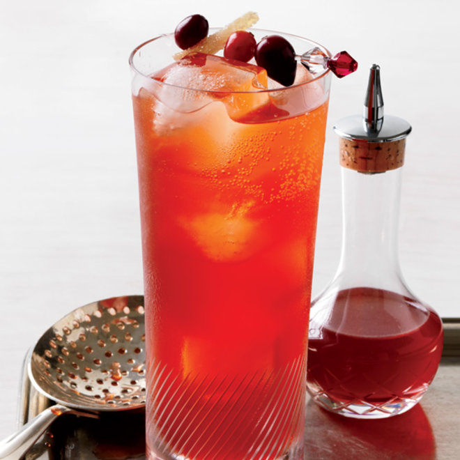 Food & Wine: Cranberry Spice Cocktail