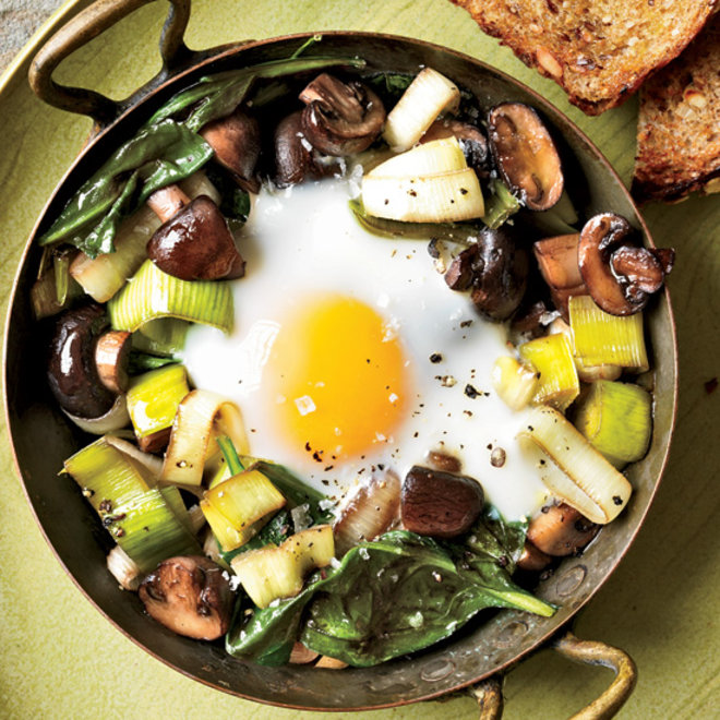 Food & Wine: Best Wines to Pair with Baked Eggs
