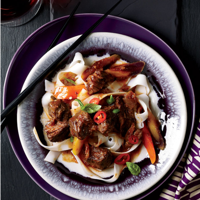 Food & Wine: Asian Beef with Basil