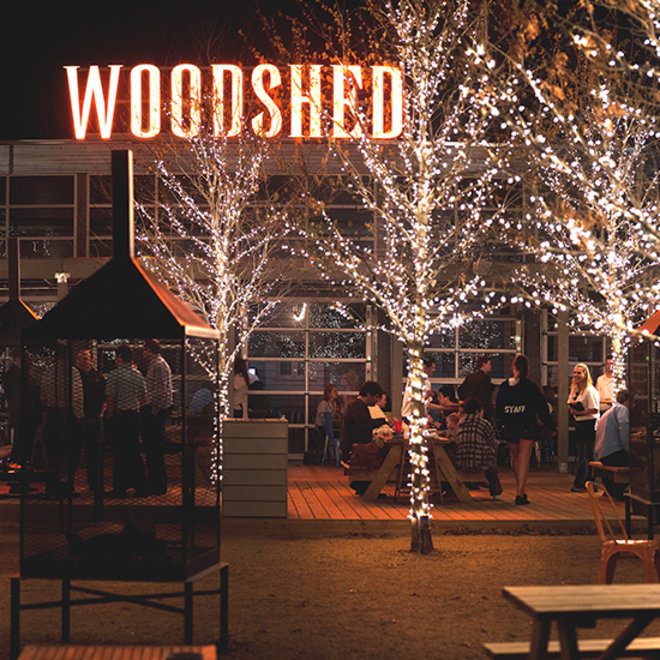 Food & Wine: The Woodshed Smokehouse in Fort Worth, TX.
