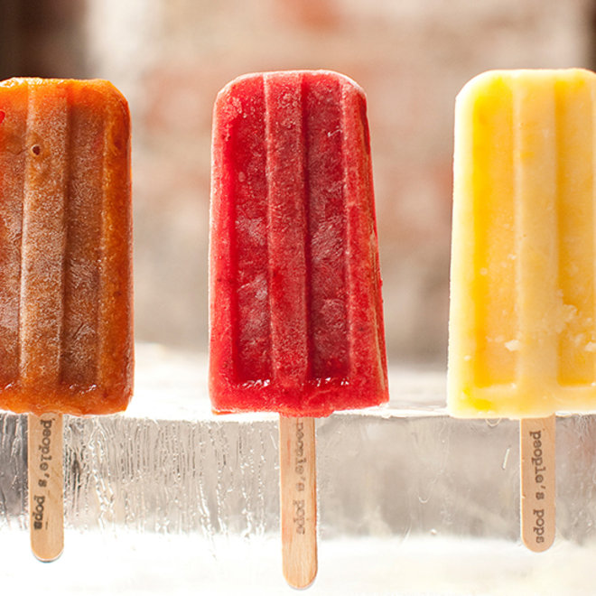 Food & Wine: Delicious fresh popsicles from People's Pops.