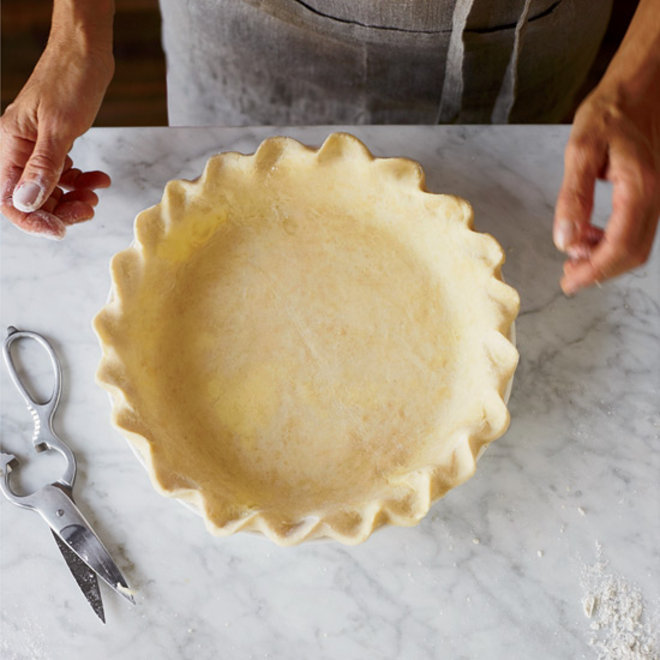 Food & Wine: Perfectly Flaky Yogurt-Butter Pie Dough