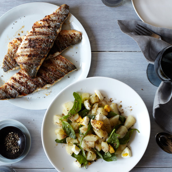 Food & Wine: Grilled Branzino