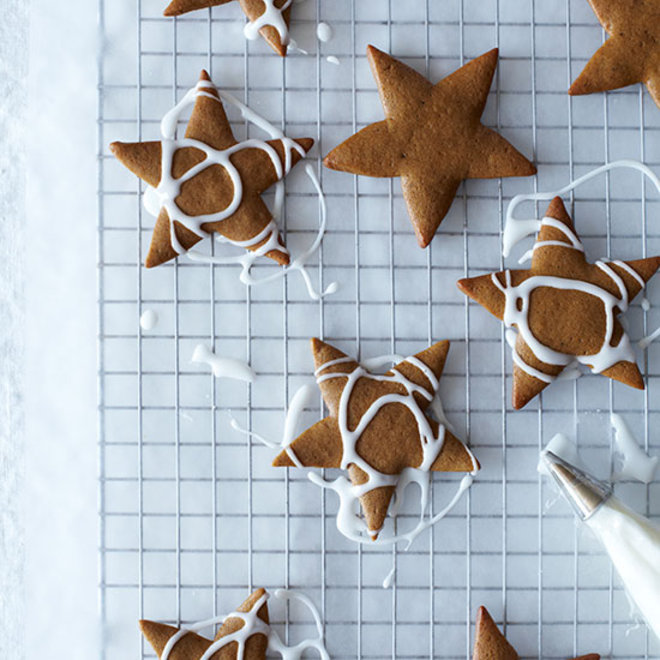 Food & Wine: Spiced Gingerbread Cookies