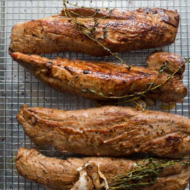 Food & Wine: Chefs' Clever Pork Tenderloin Tips