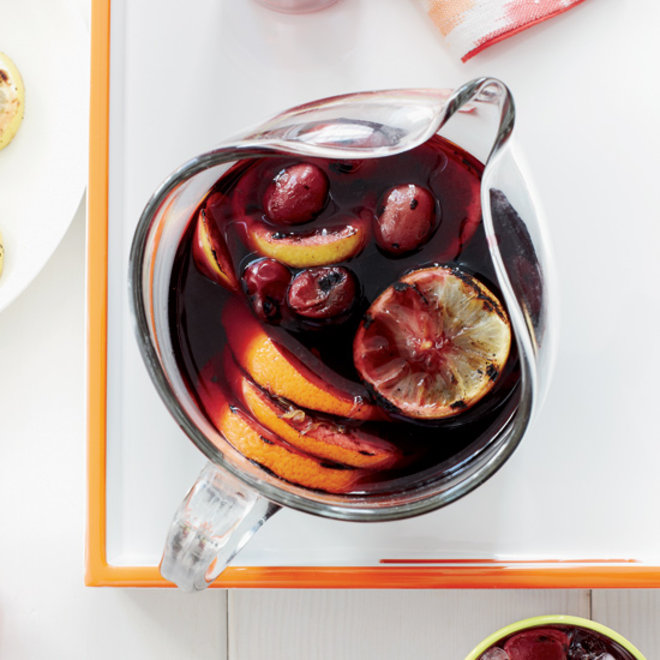 Food & Wine: Grilled Citrus and Grape Sangria