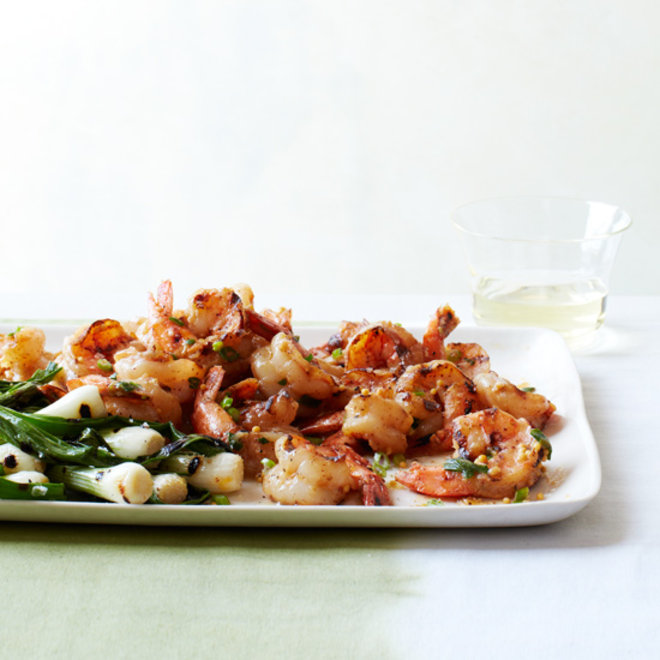 Food & Wine: Grilled Shrimp with Miso Butter