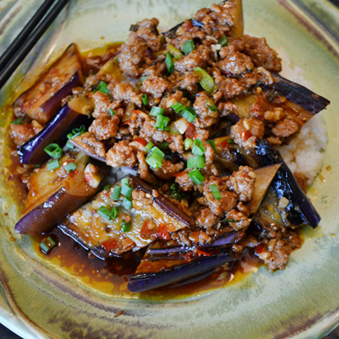 Food & Wine: Ma Po Eggplant in Garlic Sauce