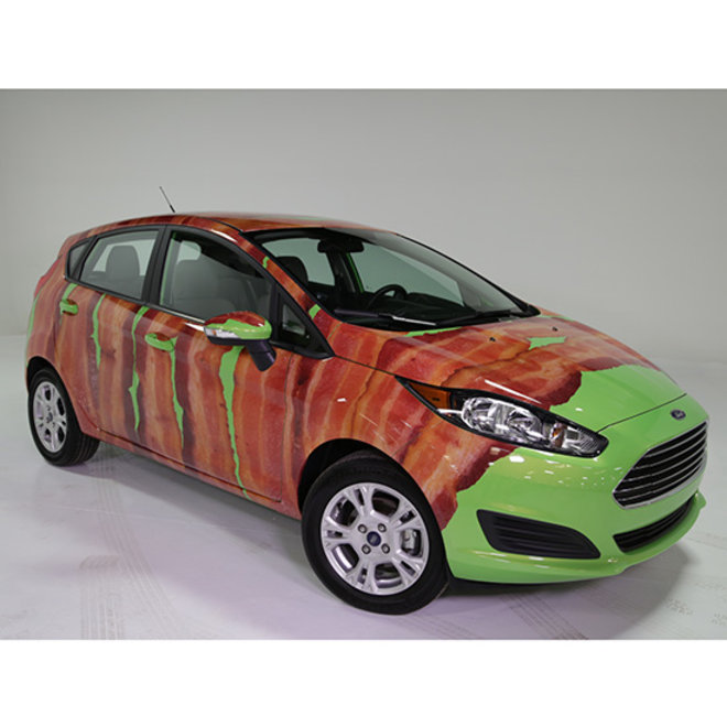 Food & Wine: Bacon Car