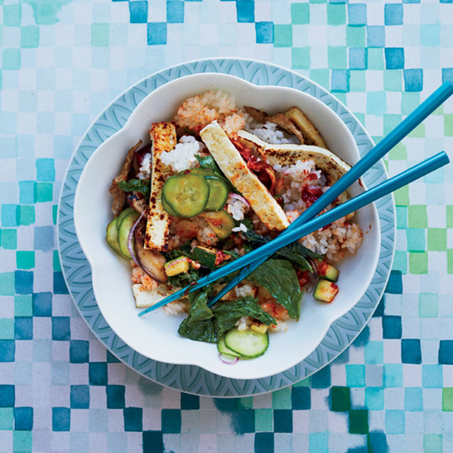 Food & Wine: Crispy Tofu Bibimbap