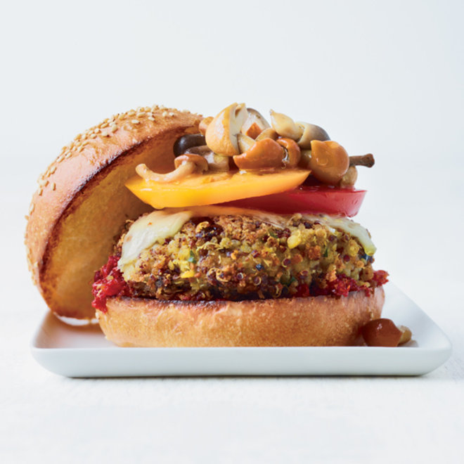 Food & Wine: Fresh and Juicy Veggie Burgers