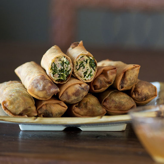 Food & Wine: Bountiful's Rebellious Kale and Chicken Egg Rolls