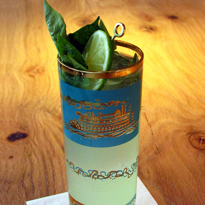 Food & Wine: Salted Key Lime Soda and Gin
