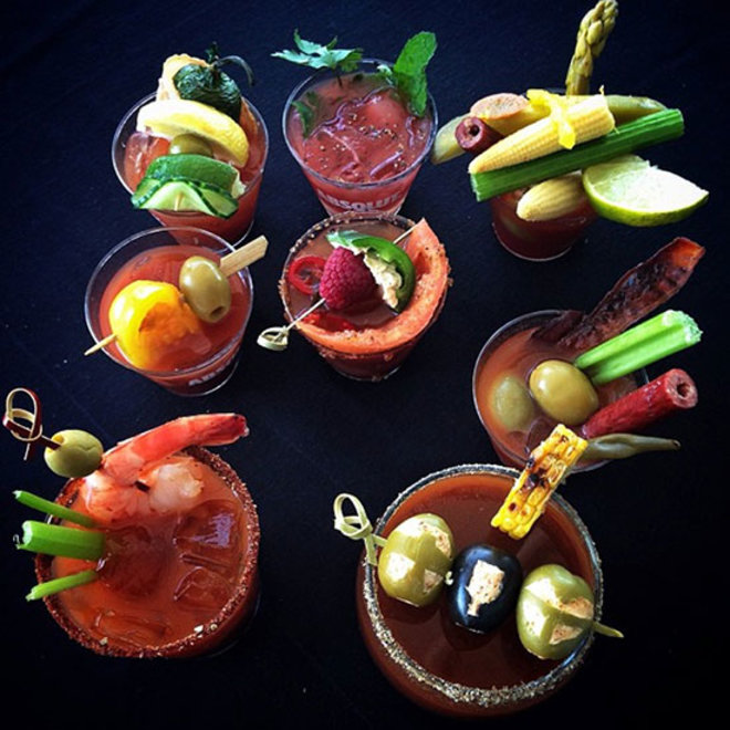 Food & Wine: Bloody Mary Heaven