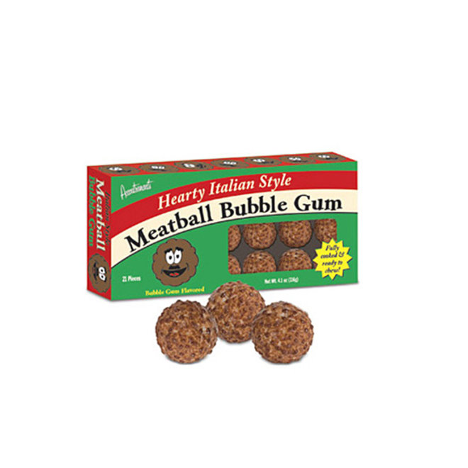 Food & Wine: Meatball Bubble Gum