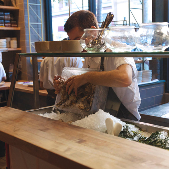 Food & Wine: State Bird Provision's new oyster bar.