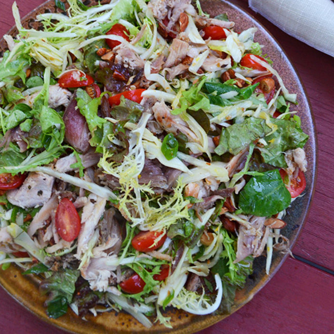 Food & Wine: Pheasant Confit Salad