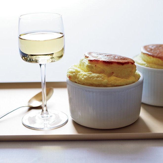 Food & Wine: German Riesling with Cheese Soufflés