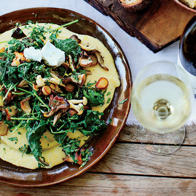 Food & Wine: Soft Polenta with Mixed Mushrooms
