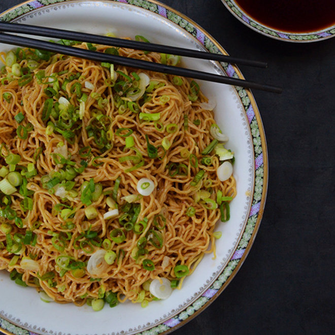 Food & Wine: Sweet, Aromatic Soy Sauce Over Noodles