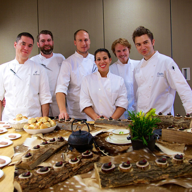Food & Wine: Superstar Chefs Bring Early Thanksgiving to Food & Wine