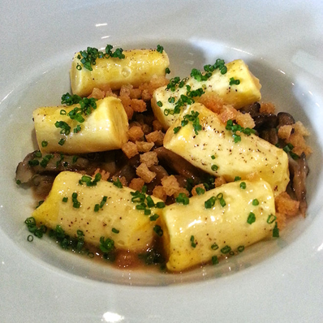 Food & Wine: Michael Voltaggio's Egg Yolk Gnocchi