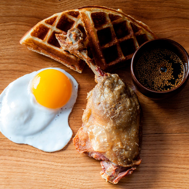 "Food & Wine: Timon Balloo's ""Fat Boy"" Duck & Waffle"