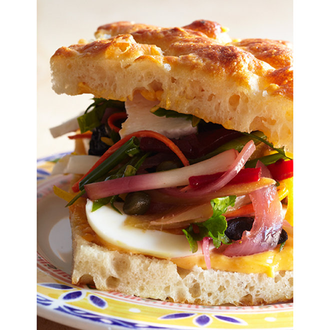 Food & Wine: 9 Epic Hard-Boiled Egg Sandwiches