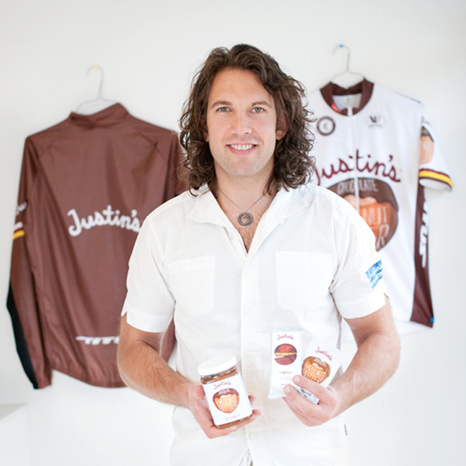Food & Wine: Nut butter entrepreneur Justin Gold