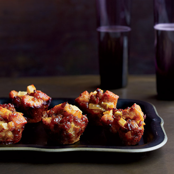 Food & Wine: Sausage-and-Apple Stuffing Bites