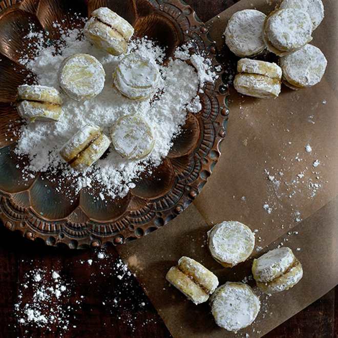 Food & Wine: Pistachio Orange Blossom Winter Cookies