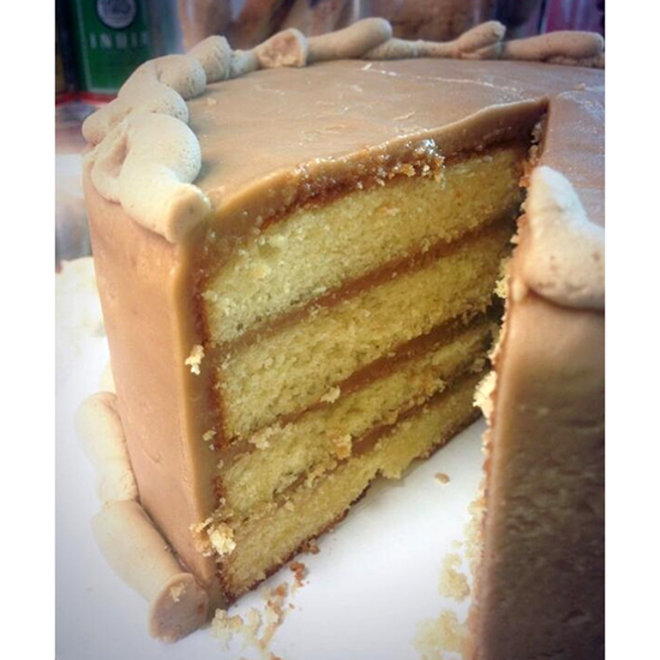 Food & Wine: The Caramel Cake Worth Crying Over