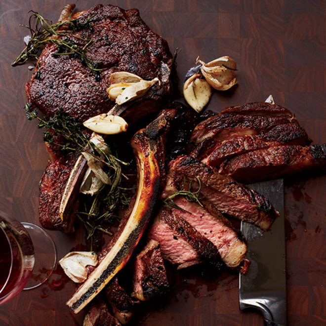 Food & Wine: Butter-Basted Rib Eye Steak