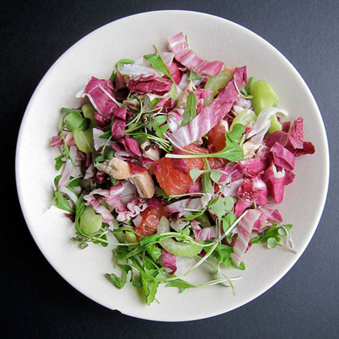Food & Wine: An Impossible to Pair Salad? Not Quite.