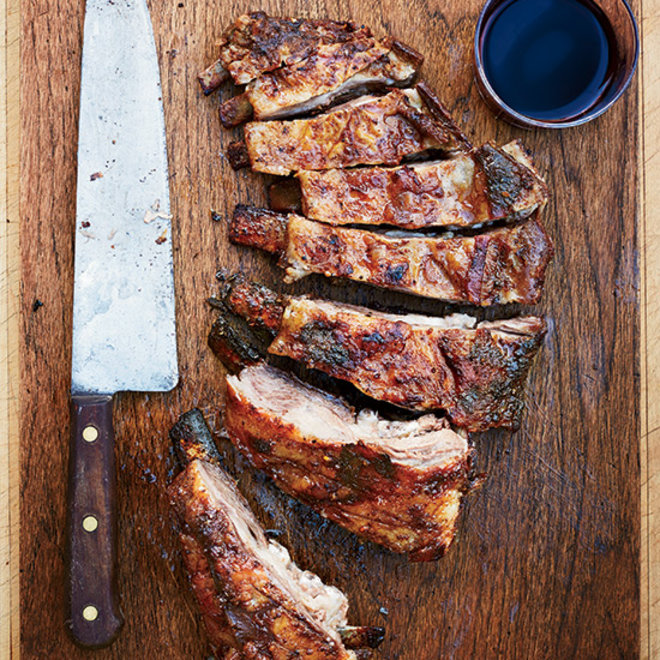 Food & Wine: Grilled Lamb Ribs