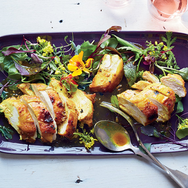 Food & Wine: Curried Maple-Mustard Chicken Breasts