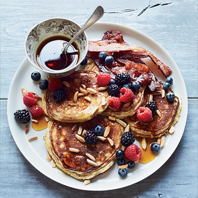Food & Wine: Gluten-Free Banana-Coconut Pancakes
