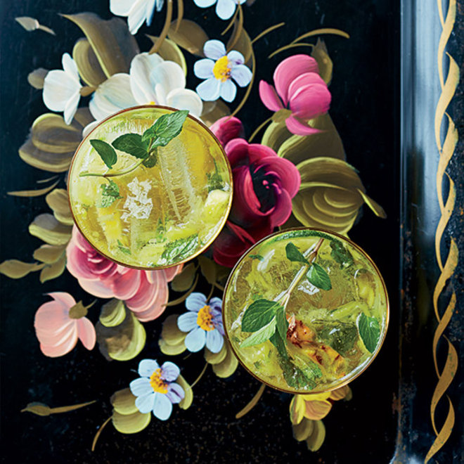 Food & Wine: Pineapple Mojitos