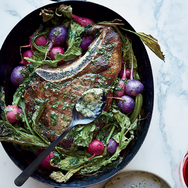 Food & Wine: Rib Eye and Radishes