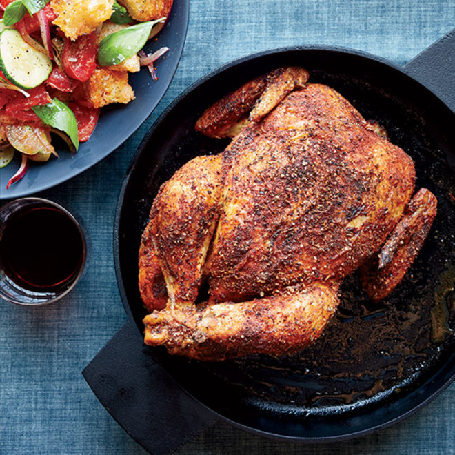 Food & Wine: Roast Chicken with Panzanella