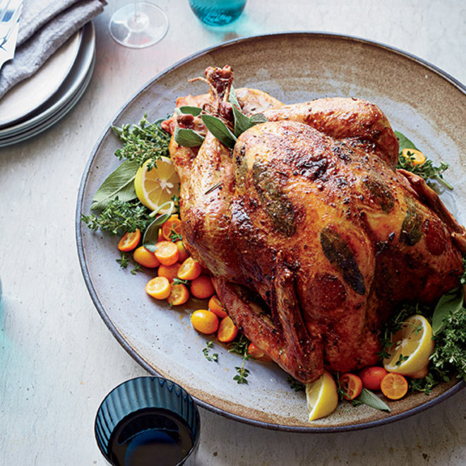 Food & Wine: Roast Turkey with Pepperoni