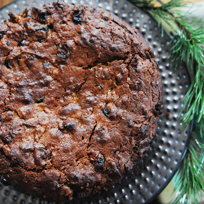 Food & Wine: Christmas Boiled Fruit Cake