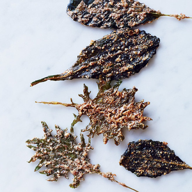 Food & Wine: Nutty Baby Kale Chips