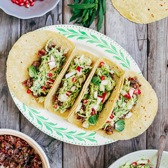 Food & Wine: Brussels Sprouts Tacos