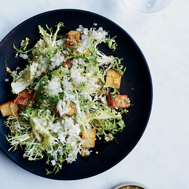 Food & Wine: Frisee salad