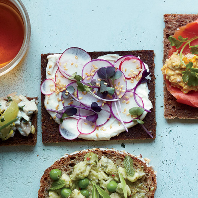 Food & Wine: 7 Recipes for Mother's Day Tea