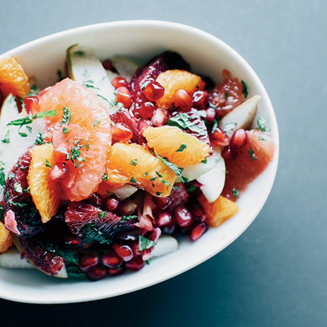 Food & Wine: Winter Fruit Salad in Ginger-Lime Syrup