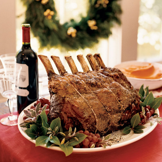 Food & Wine: Salt-and-Pepper-Crusted Prime Rib with Sage Jus