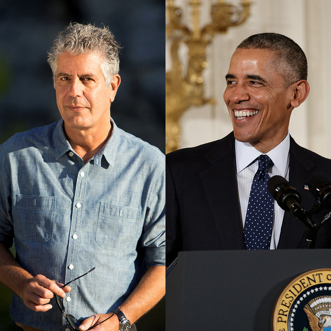 Food & Wine: Anthony Bourdain and Obama Dinner in Vietnam